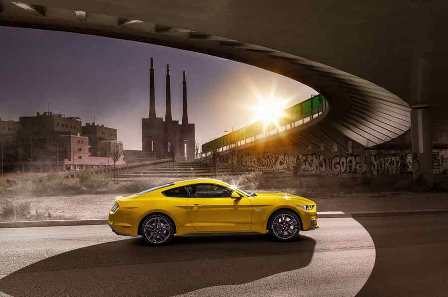 Photo of Ford lancia la Mustang in Europa