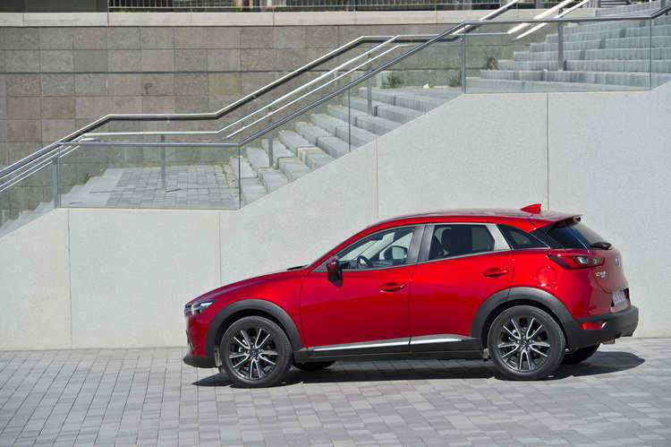 Photo of Mazda CX-3 forme esterne carrozzeria