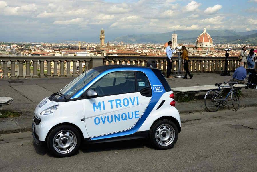 Photo of Car2Go Aiuta Firenze