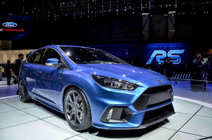 Photo of Focus RS al Salone di Ginevra 2015