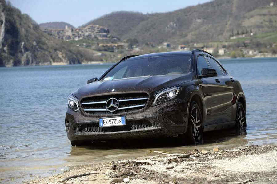 Photo of Mercedes GLA 4matic ENDURO in outdoor