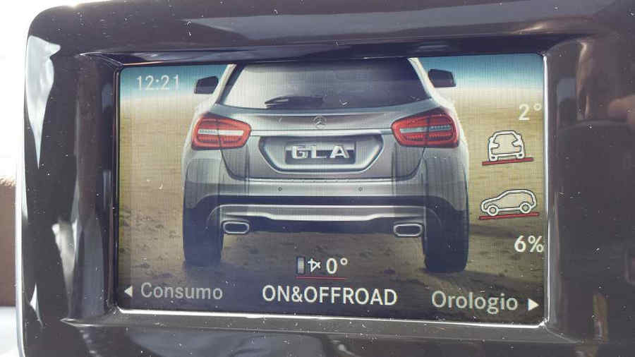 Monitor off Road Mercedes Lago Turano Mercedes GLA SUV Enduro