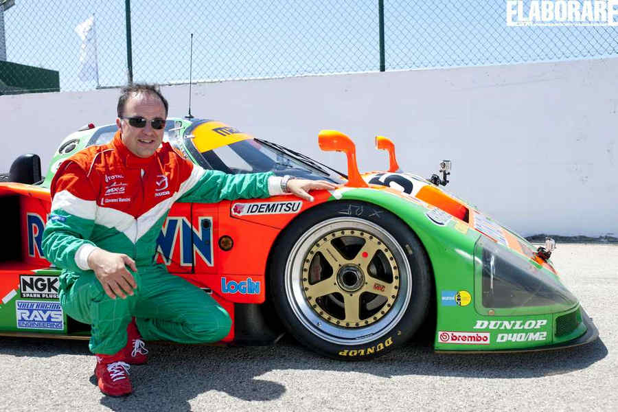Photo of Mazda 787 B Le Mans 1991 winner wankel