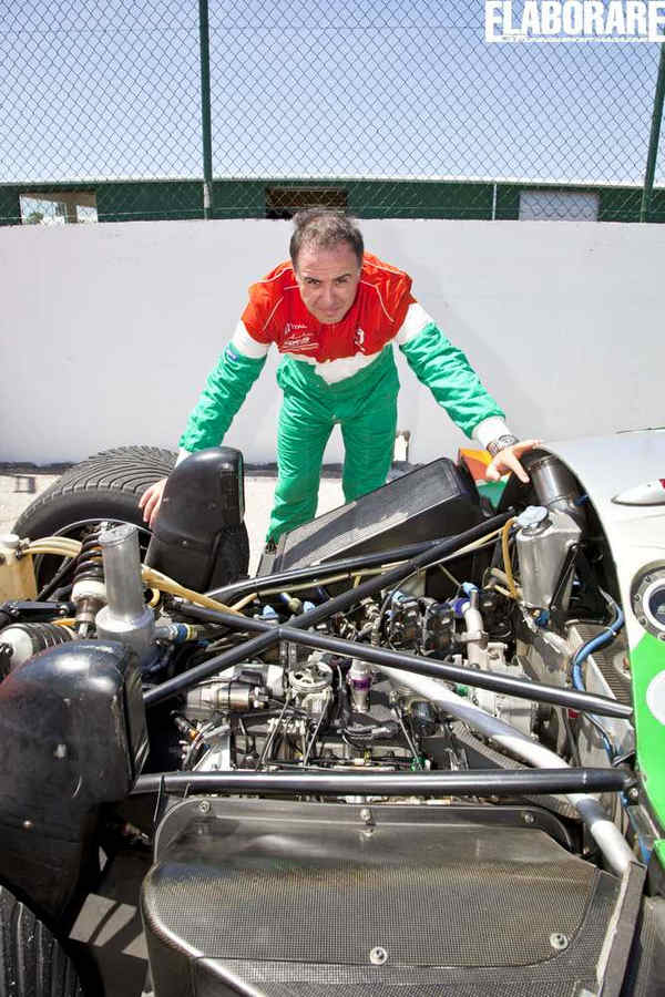 Giovanni Mancini test Mazda 787B wankel Le Mans