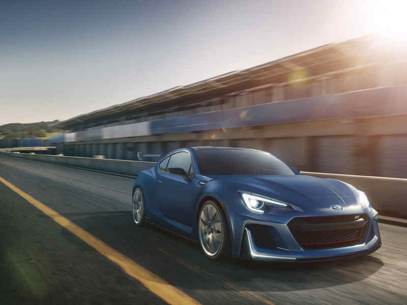 Photo of Subaru BRZ STI Performance Concept