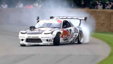 Photo of Drifting show con Mazda RX7 Goodwood