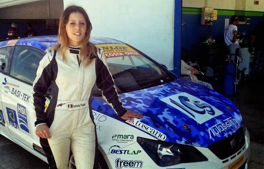 Carlotta Fedeli pilota Seat
