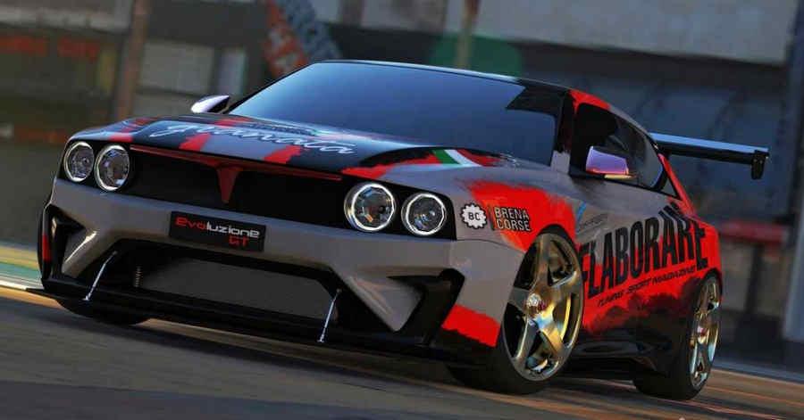 Lancia Delta, progetto Evoluzione GT Racing  Step1