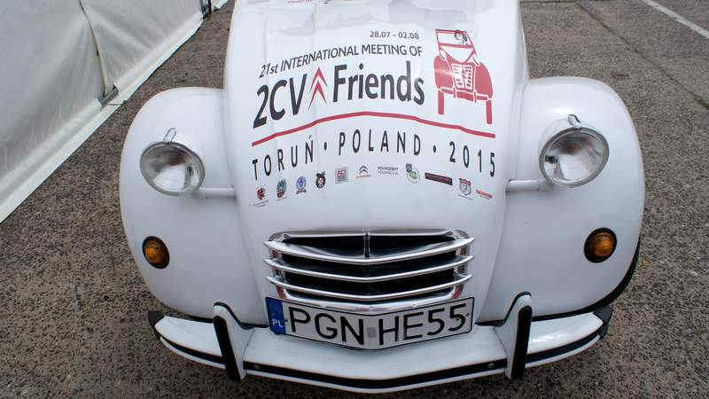 Photo of Citroen 2CV Polonia raduno mondiale 2015