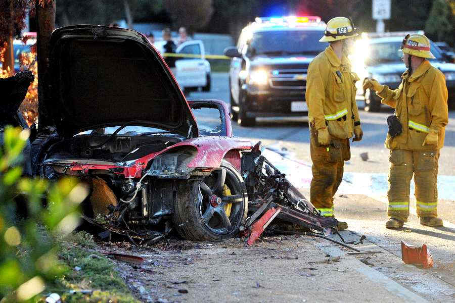 incidente auto Paul Walker