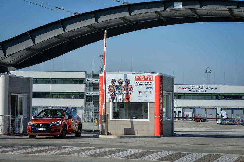 L'ingresso dell'Autodromo di Misano Adriatico