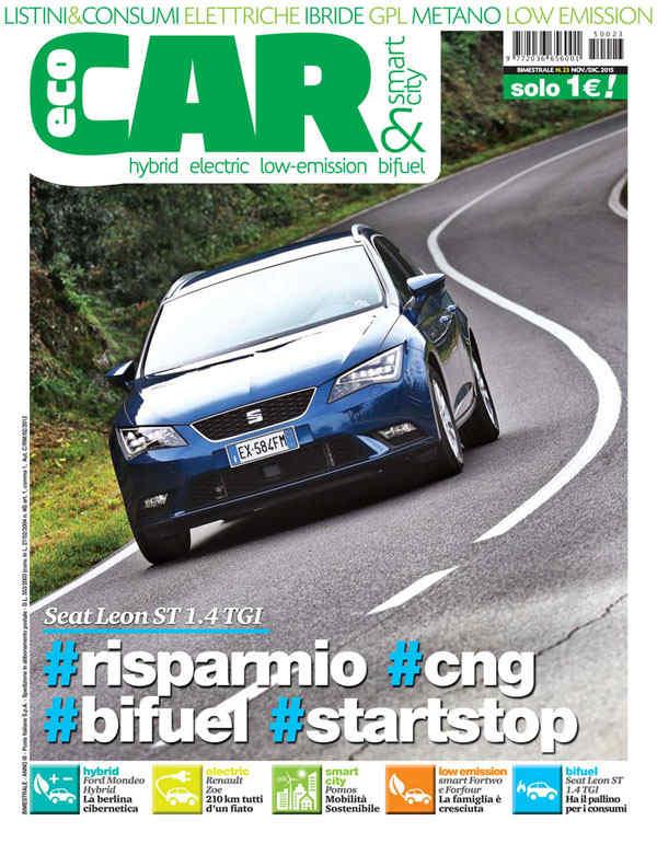 EcoCar copertina numero 23 2015
