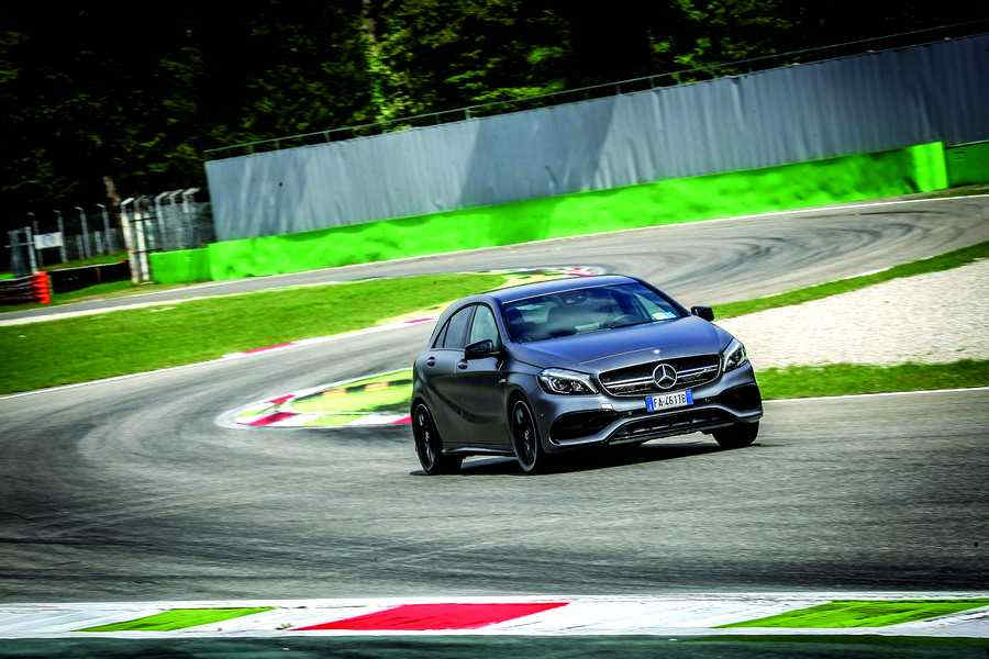 Photo of MERCEDES-AMG A 45 TEST MONZA