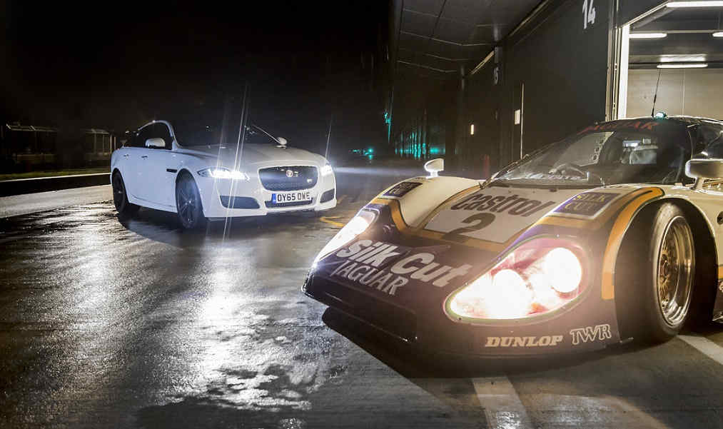 Photo of JAGUAR XJR TEST SILVERSTONE LED