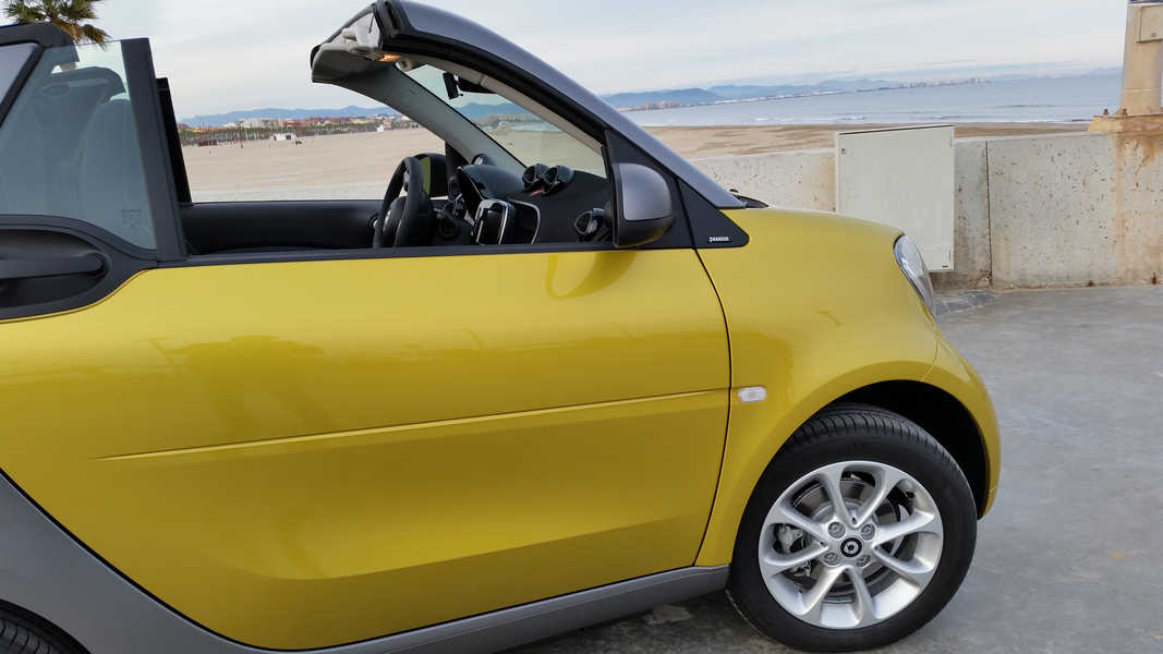 Photo of SMART FORTWO CABRIO TEST 2016