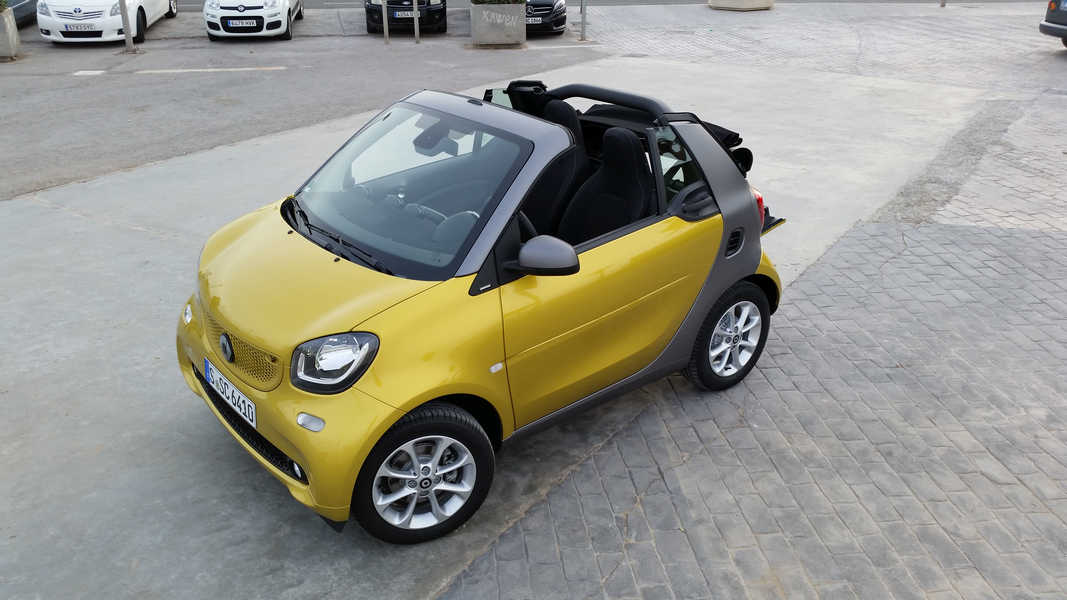 Photo of NUOVA SMART FOR TWO CABRIO VALENCIA