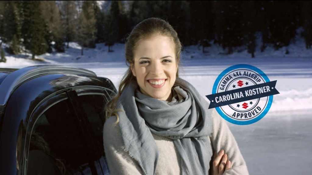 Carolina Kostner, Brand Ambassador Suzuki