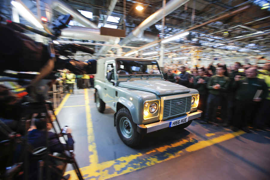 Photo of ULTIMO LAND ROVER DEFENDER