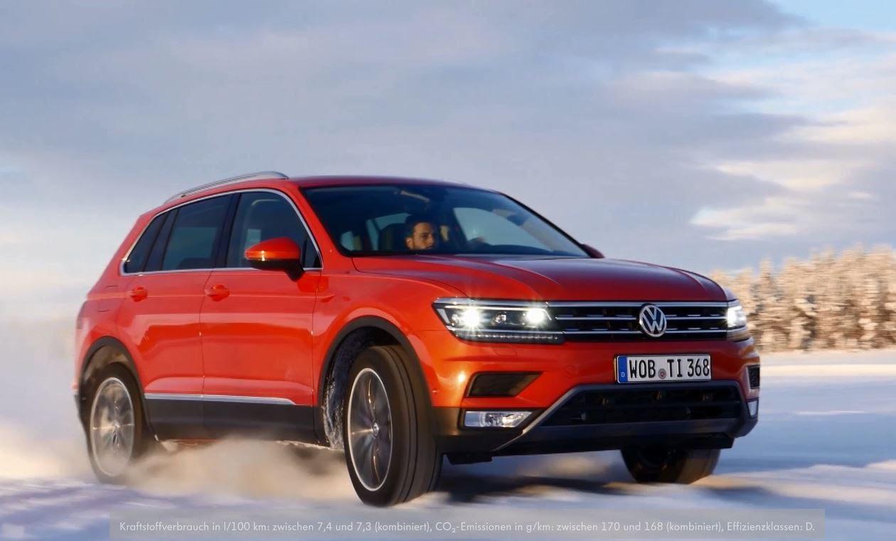 Photo of VW TIGUAN 4MOTION TEST NEVE