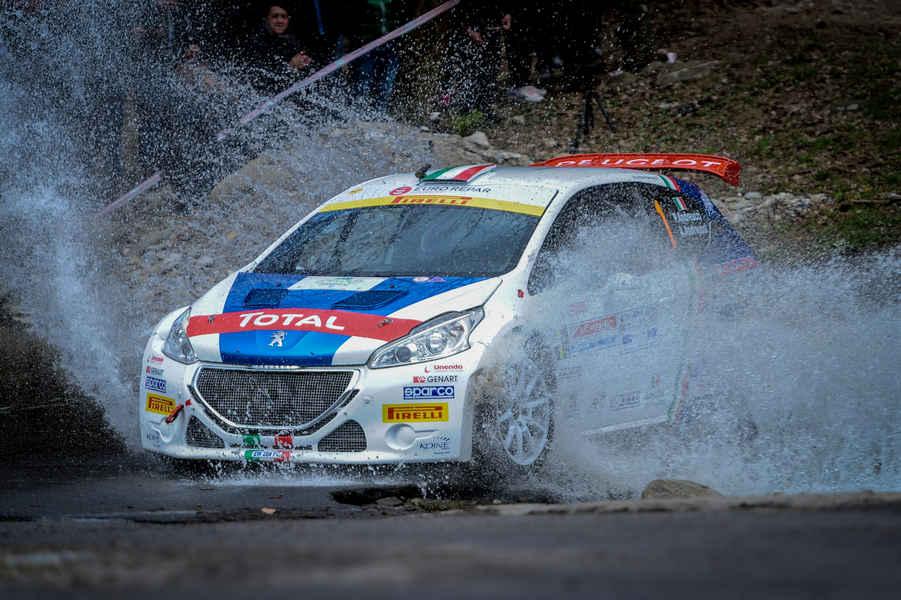 Photo of Peugeot al Rallye Sanremo