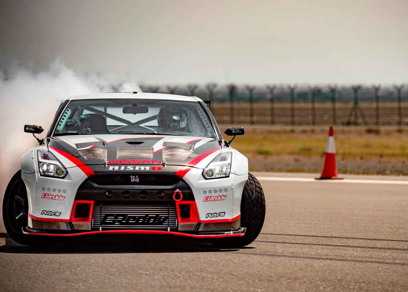 Photo of Nissan Gt-R World Records Drifting