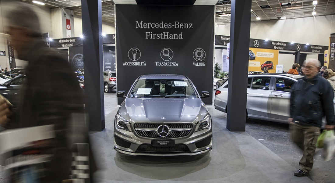 Photo of Firsthand Mercedes-Benz Roma Motor Show