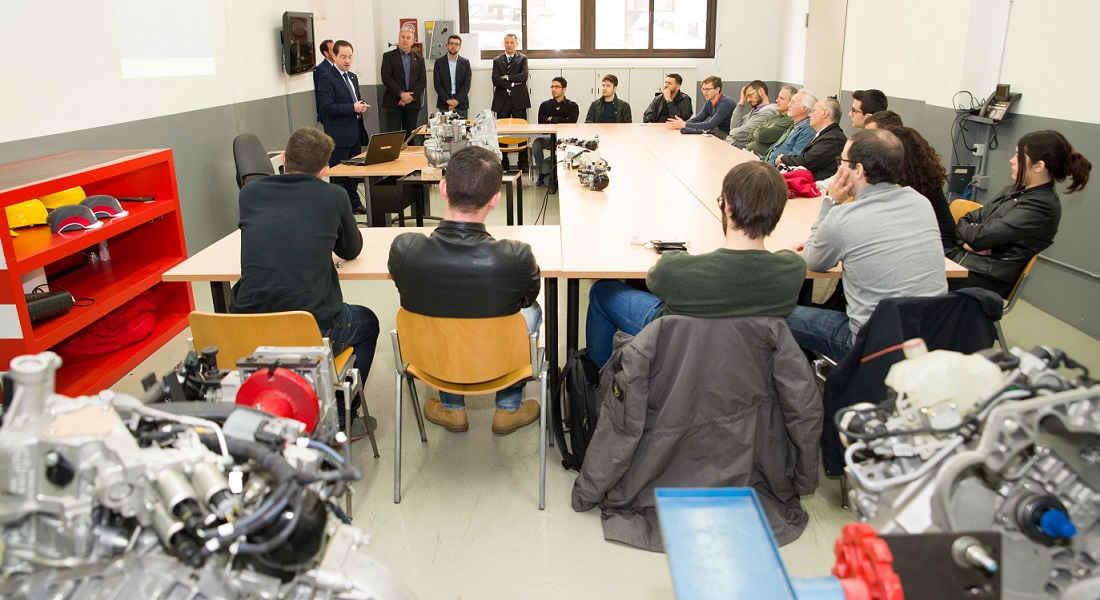 Photo of Formazione Mopar All'università