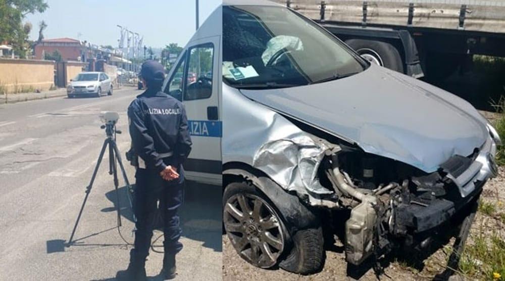 Photo of Autovelox Distrutto Con Incidente a Roma