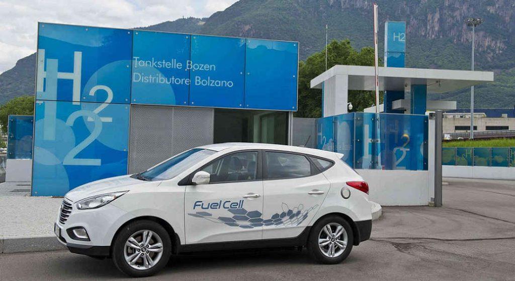 distributore di idrogeno Bolzano