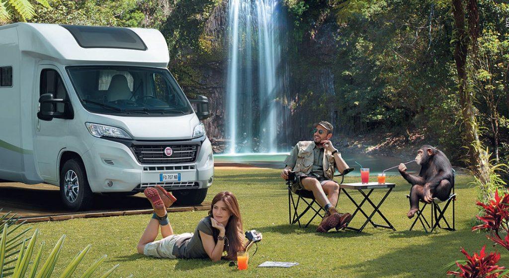 Fiat Ducato molto utilizzato anche come base per il camper