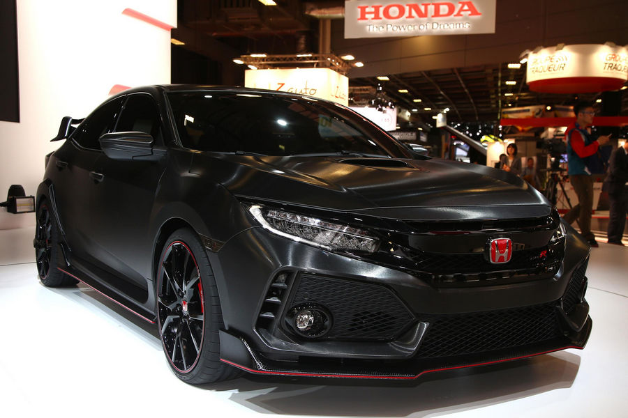 Photo of Honda Civic Type R Parigi 2016