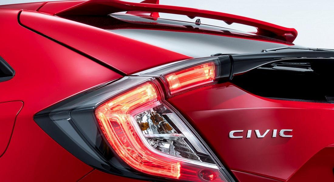 Faro posteriore nuova Honda Civic 2017
