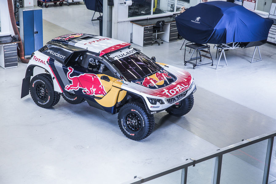 Photo of Peugeot 3008 Dkr Livrea Dakar 2017