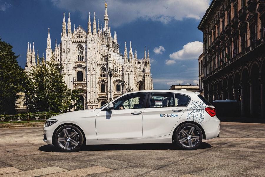 DriveNow, il car sharing nato dalla joint venture tra BMW Group