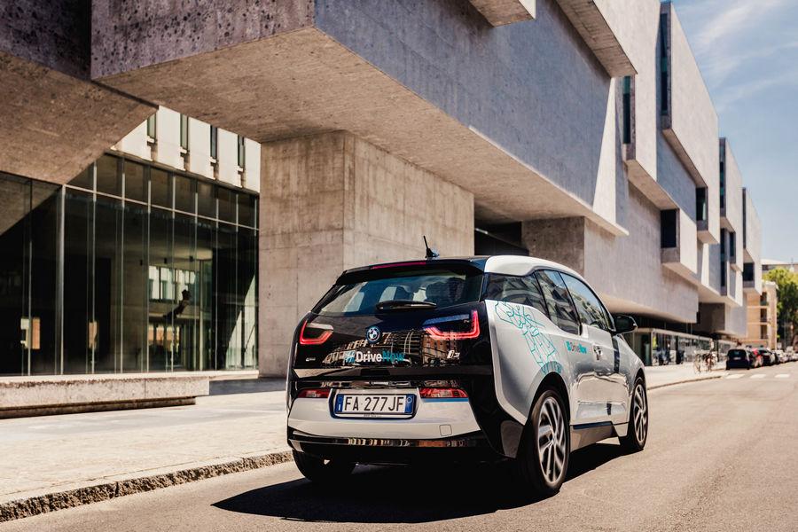 DriveNow-Milano-BMW-i3