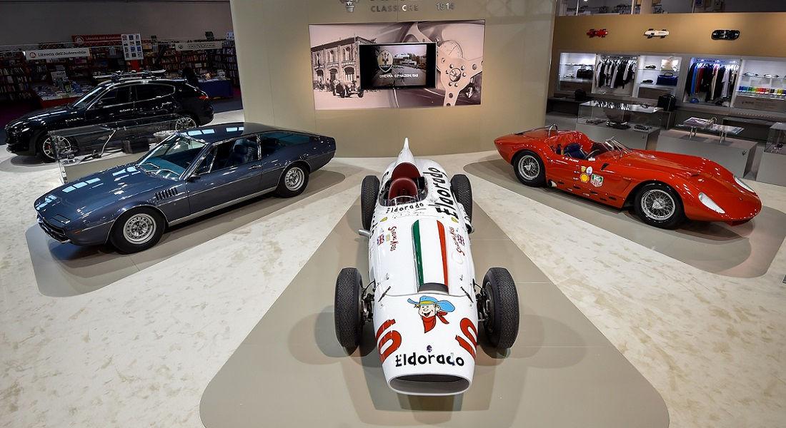 Photo of Maserati al 33^ Salone Auto e Moto D'epoca