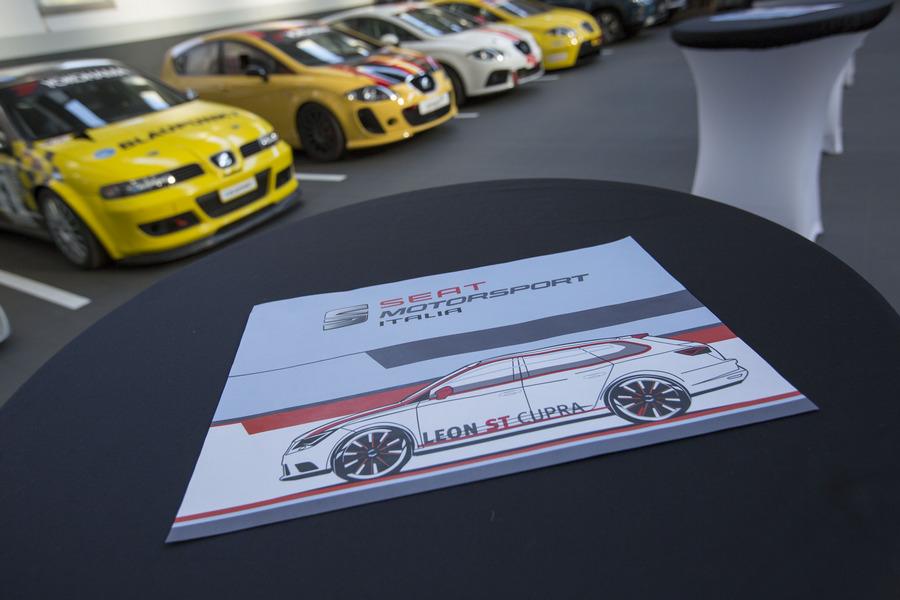 Presentazione Seat Motorsport Italia 2017