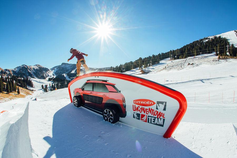 Photo of Citroën Obereggen Snowpark