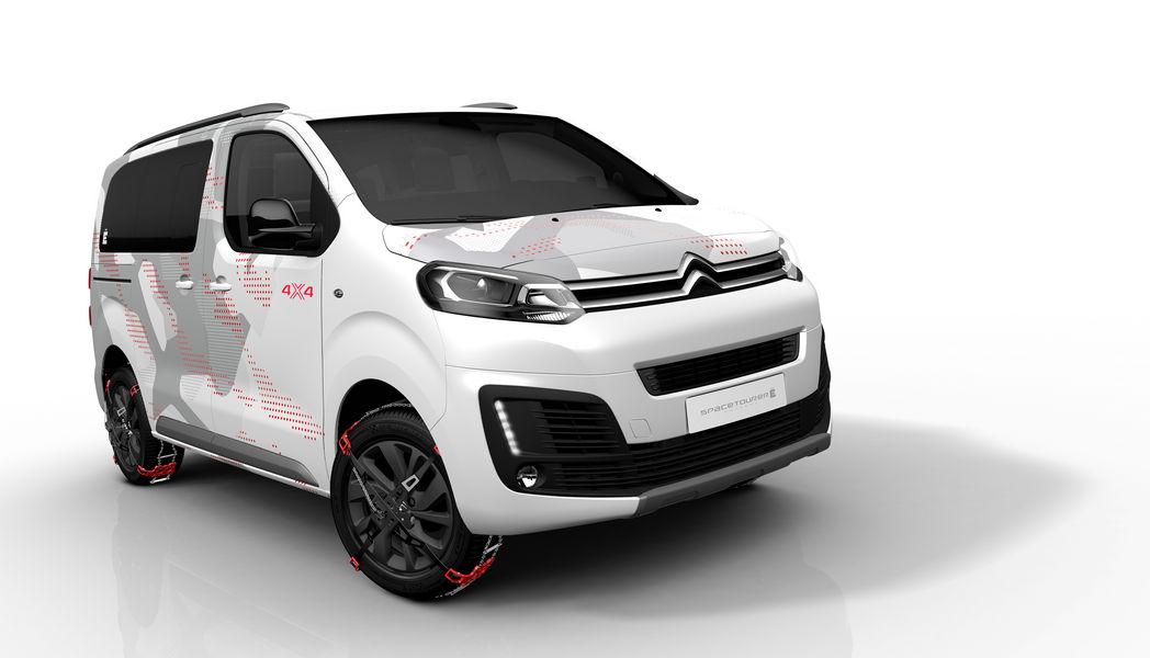 Photo of Citroën Spacetourer 4X4 Ë Concept