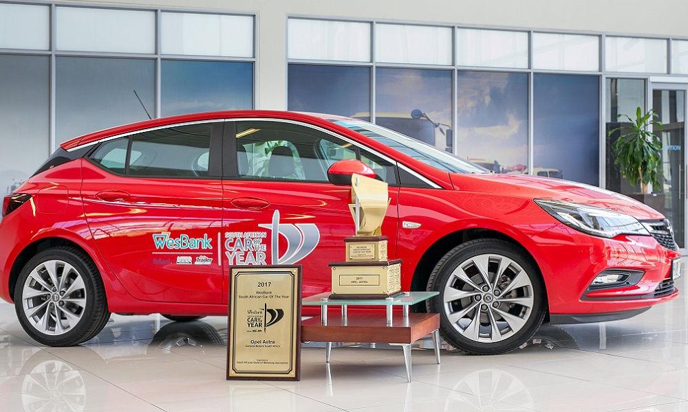 "Photo of Opel Astra ""Auto Dell'anno"" In Sud Africa"