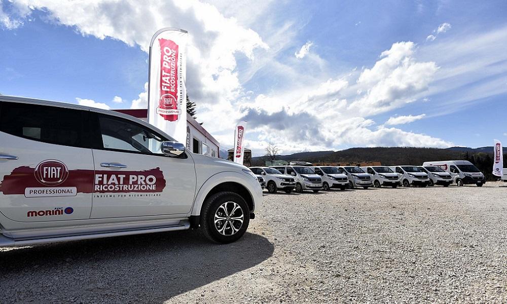Photo of Fiat Pro Noleggio Gratuito per Amatrice