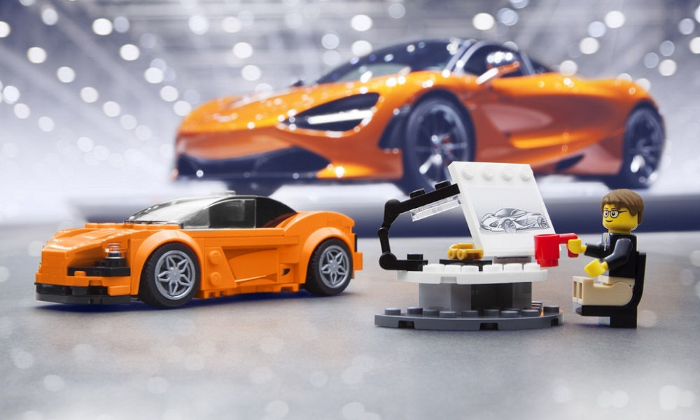 Photo of Lego, auto McLaren 702S Lego Speed Champions