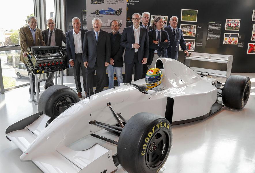 Mostra Ayrton Senna Museo Lamborghini