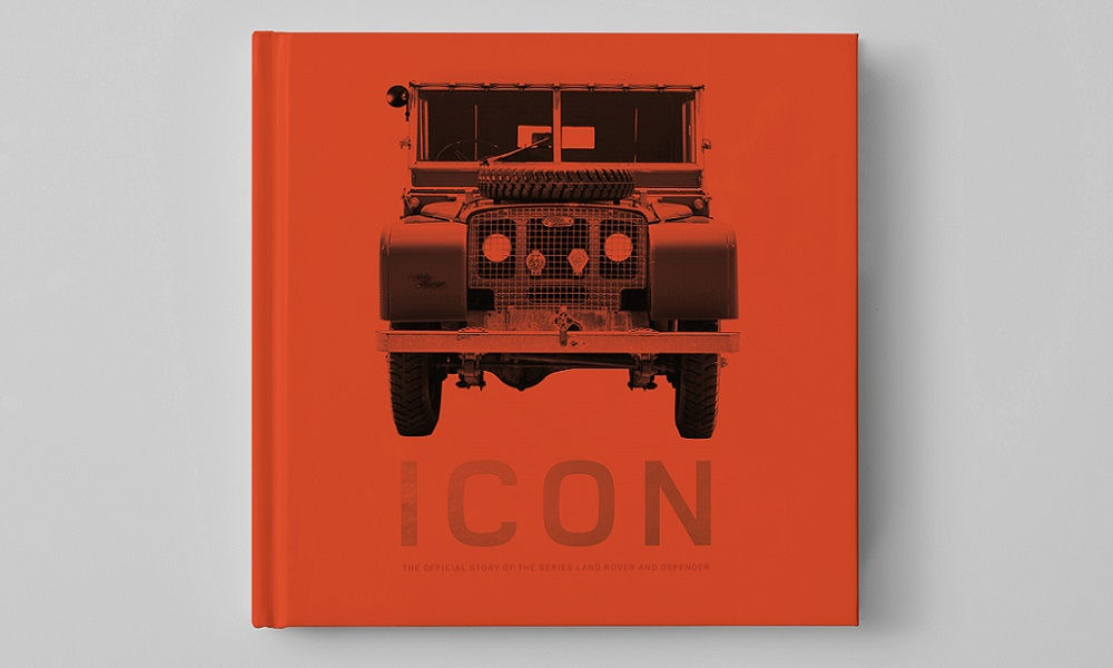 "Photo of Libro Land Rover Defender ""Icon"", racconto di una leggenda"