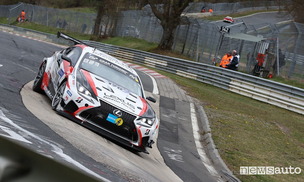 Photo of Lexus Rc 24 Ore Del Nürburgring