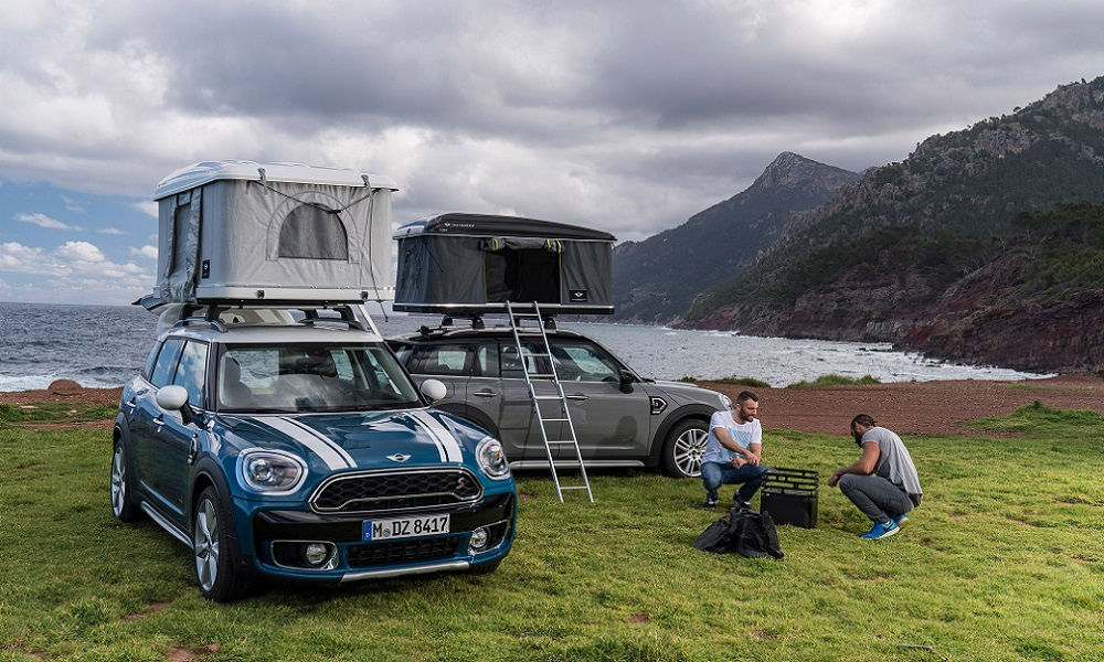 Photo of Mini Countryman Tenda da Tetto