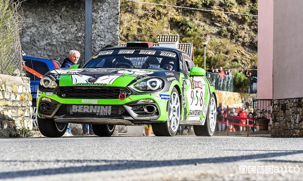 Photo of Abarth 124 Rally al Rally Del Salento