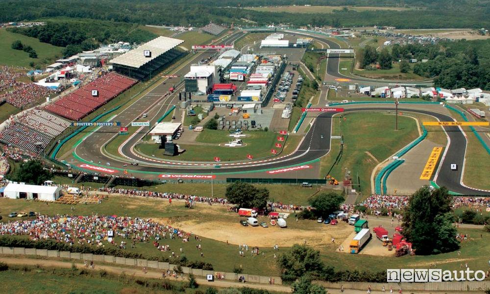 CIRCUITO HUNGARORING Ungheria F1