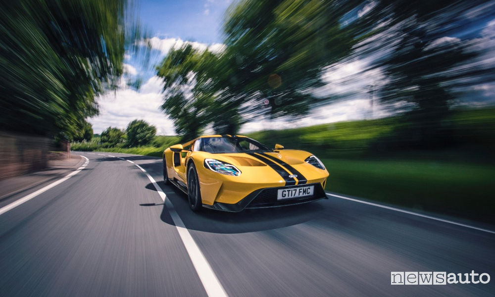 Photo of Ford GT versione stradale