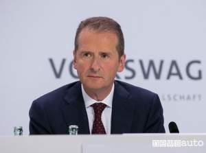 Herbert Diess CEO Gruppo Volkswagen
